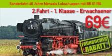 Menzels Lokschuppen 2.1.e 2.Fahrt 1.Klasse Erwachsener