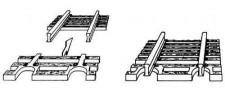 Fleischmann 22215 Schwellenendstück Flexgleis