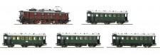Fleischmann 481701-S DRG Personenzug-Set 5-tlg Ep.2