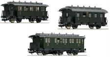 Fleischmann 481804 DRG 3-tlg. Set Nebenbahn-Personenzug Ep