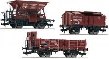 Fleischmann 550504 DRB Güterwagen-Set 3-tlg Ep.2