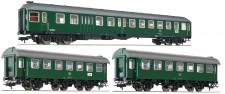 Fleischmann 566484 DB Personenwagen-Set 3-tlg Ep.4