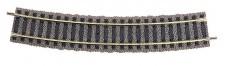 Fleischmann 6133 Gleis gebogen R4 547 mm 18°