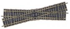 Fleischmann 6162 Kreuzung 200 mm 18°