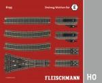 Fleischmann 6193 Dreiwegweichen-Set E