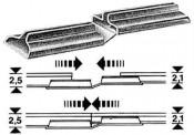 Fleischmann 6437 Übergangsschienenverbinder