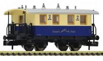 Fleischmann 805304 Alpspitz-Bahn Personenwagen 2.Kl. Ep.3-6