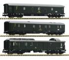 Fleischmann 814509 DB Güterwagen-Set 3-tlg. Ep.3