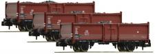 Fleischmann 820530 DB offene Güterwagen-Set 3-tlg Ep.3