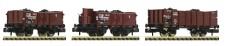 Fleischmann 820802 DRB offene Güterwagen-Set 3-tlg. Ep.2