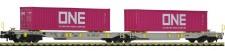 Fleischmann 825027 AAE Doppeltaschenwagen T2000 Ep.6
