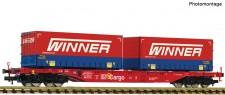 Fleischmann 825037 DBAG Winner Containertragwagen Ep.6