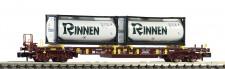 Fleischmann 825054 AAE Taschenwagen T3 4-achs Ep.6