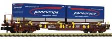 Fleischmann 825058 AAE Paneuropa Taschenwagen 4-achs Ep.6
