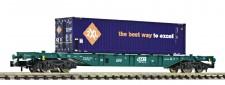 Fleischmann 825207 SNCB Containerwagen 4-achs Ep.5/6