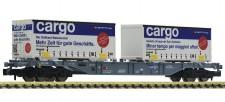 Fleischmann 825209 SBB Containertragwagen 4-achs. Ep.6