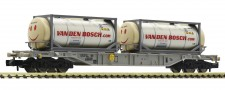 Fleischmann 825211 Containertragwagen mit 2 Tankcontainern