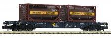 Fleischmann 825213 CEMAT Containertragwagen 4-achs Ep.6