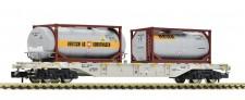 Fleischmann 825214 AAE Bertschi Containertragwagen Ep.6