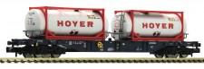 Fleischmann 825216 CEMAT Containertragwagen 4-achs. Ep.6