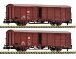 Fleischmann 826213 DBAG gedeckte Güterwagen-Set 2-tlg. Ep.5