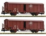 Fleischmann 826214 DR gedeckte Güterwagen-Set 2-tlg. Ep.4