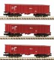 Fleischmann 828343 CD Offene Güterwagen-Set 3-tlg Ep.6