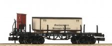 Fleischmann 828506 DRG Rungenwagen Holzkiste Ep.2