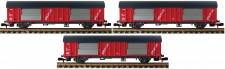 Fleischmann 834801 NS Post PTT Postwagen-Set 3-tlg Ep.4/5