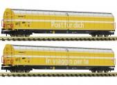 Fleischmann 838312 SBB PTT Schiebewandwagen-Set 2-tlg. Ep.6
