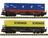 Fleischmann 845376 ÖBB Taschenwg. 4-achs. Set 2-tlg. Ep.4-5
