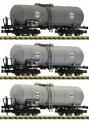 Fleischmann 848028 EVA Kesselwagen Set 1 3-tlg. Ep.4
