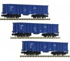 Fleischmann 852329 PKP offene Güterwagen-Set 3-tlg Ep.6