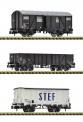 Fleischmann 880904 SNCF Güterwagen-Set 3-tlg. Ep.3