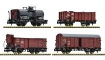 Fleischmann 880907 DRB Güterwagen-Set 4-tlg. Ep.2