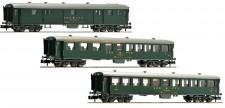 Fleischmann 881813 SBB Personenwagen-Set 3-tlg Ep.4