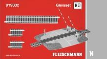 Fleischmann 919002 Gleisset Bahnübergang (BÜ)