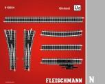 Fleischmann 919004 Gleisset Überholgleis 2 (Ü2)