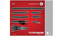 Fleischmann 9194 Dreiwegweichen-Set E