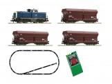 Fleischmann 931705 Analog-Startset DB BR212+Güterzug Ep.5