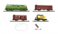Fleischmann 931894 Digital-Startset RENFE D340+Güterzug Ep