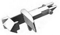 Fleischmann 9525 Standardsteckkupplung