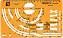 Fleischmann 995101 Gleisplanschablone