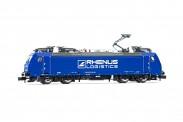 Arnold HN2464D Rhenus logistics E-Lok BR 186 Ep.6