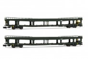 Arnold HN4347 SNCF Autotransportwagen-Set 2-tlg Ep.5