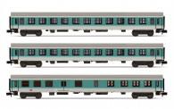 Arnold HN4367 DBAG Personenwagen-Set 3-tlg Ep.5
