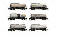 Arnold HN6397 SNCF Kesselwagen-Set 6-tlg Ep.4/5