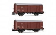 Arnold HN6522 DB gedeckte Güterwagen-Set 2-tlg Ep.4