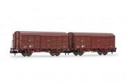 Arnold HN6523 RENFE gedeckte Güterwagen-Set 2-tlg Ep.4