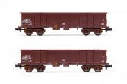 Arnold HN6532 DR offene Güterwagen-Set 2-tlg Ep.4